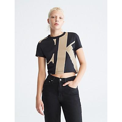 Swirl Monogram Logo Box T-Shirt | Calvin KleinCalvin KleinCloseCalvin KleinShow Password