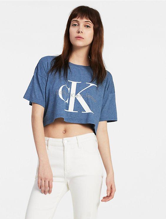 1dee07b3ad5 boxy logo t-shirt | Calvin Klein