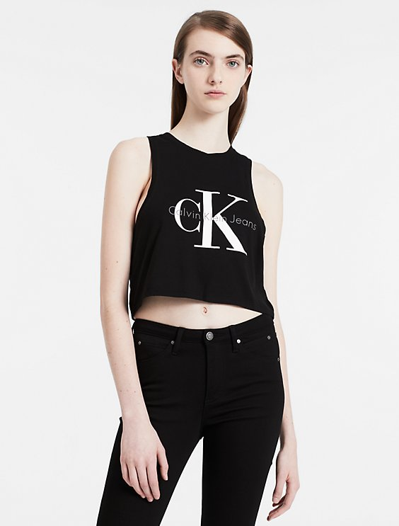 Really Cheap Online Cropped top Calvin Klein Comfortable Cheap Online NQ8hxkKmw