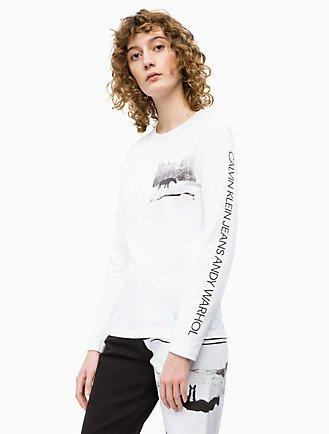 c1551d3203947c warhol landscape crewneck long sleeve shirt
