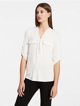 850a5af1dc2723 Sale | Women's Sale | Shirts + Blouses | Calvin Klein