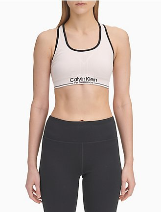 8e09e19d9442e Performance Logo Medium Impact Sports Bra