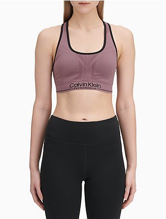 4c632e1caa5 Performance Logo Medium Impact Sports Bra