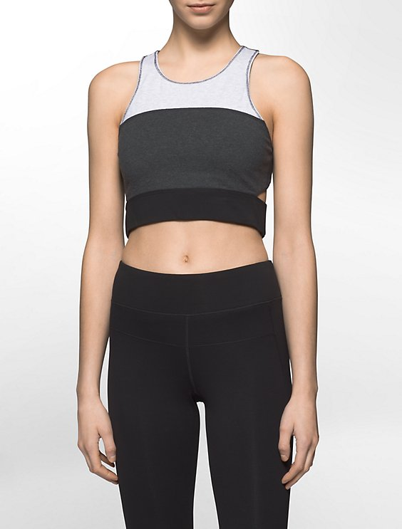 3a68b090c6d Clearance performance colorblock long line sports bra