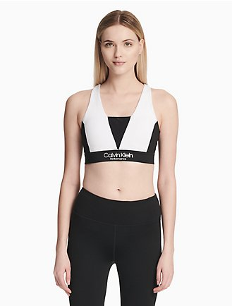 c9d43cd3e6fde performance colorblock v-neck sports bra