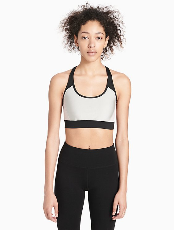 8745de0a94 Price as marked performance metallic colorblock sports bra