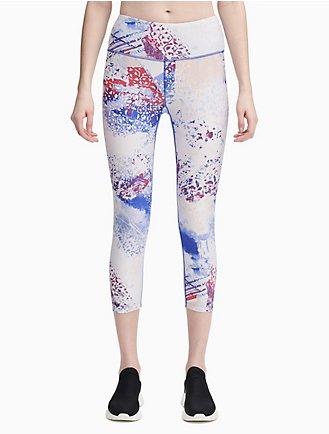 ede9ee4e0accd performance ice print high waist cropped leggings