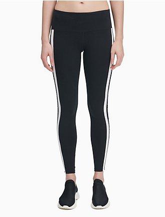 a90d42d05d34e Performance Logo Stripe High Waist Leggings