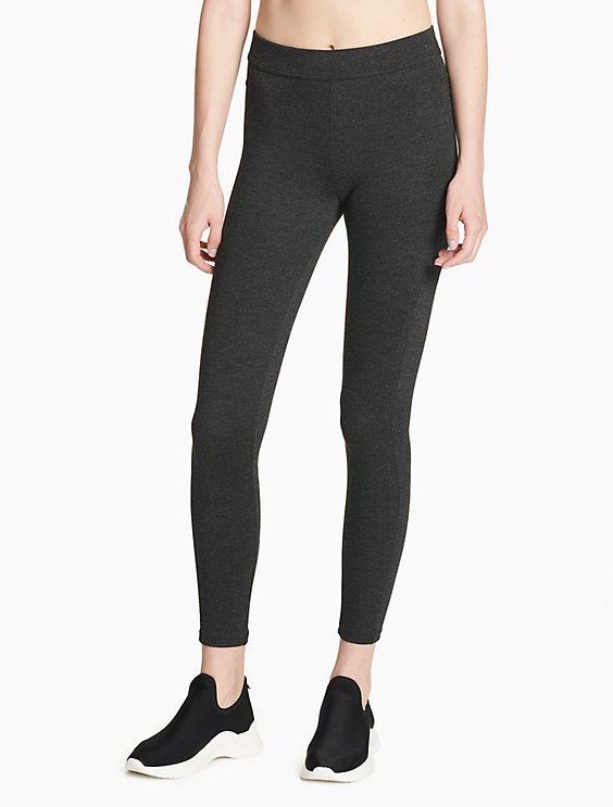 9b53d550c6732 performance solid back pockets full length leggings | Calvin Klein