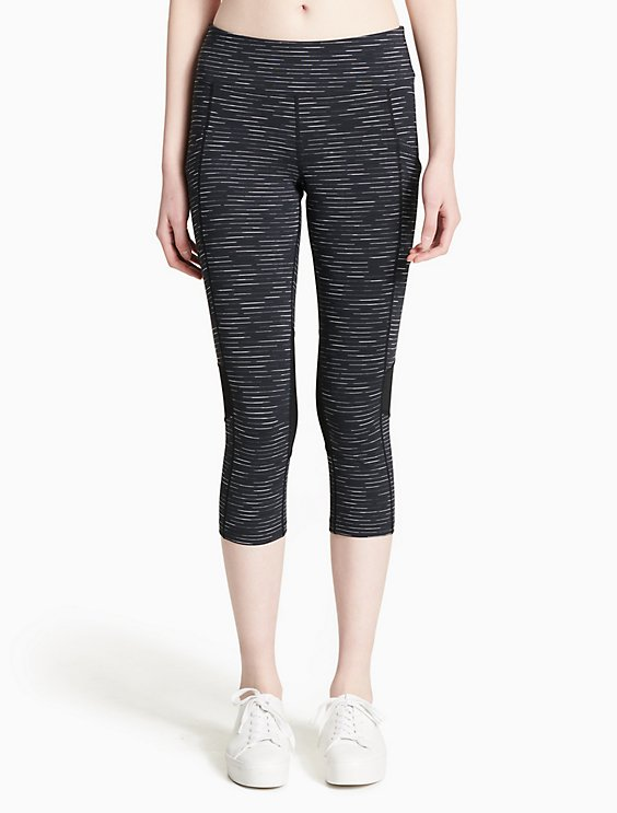 100% Authentic Best Place For Sale Calvin Klein Collection Mid-Rise Cropped Leggings AXcU6X