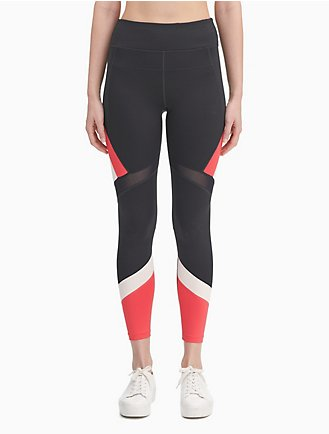 2cabf16e45b43c performance colorblock high waist mesh leggings