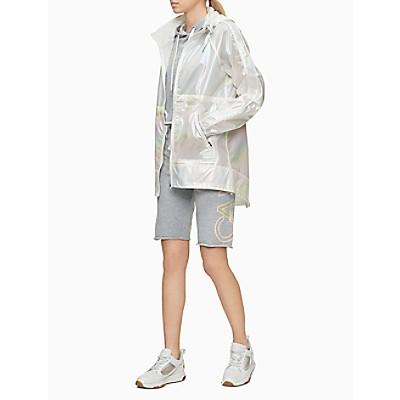 Performance Iridescent Pieced Full Zip Hooded Jacket