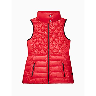 Performance Quilted Full Zip Sleeveless Vest