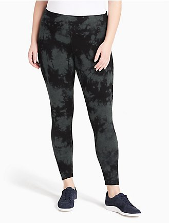 26088213b4ea plus size performance tie-dye leggings