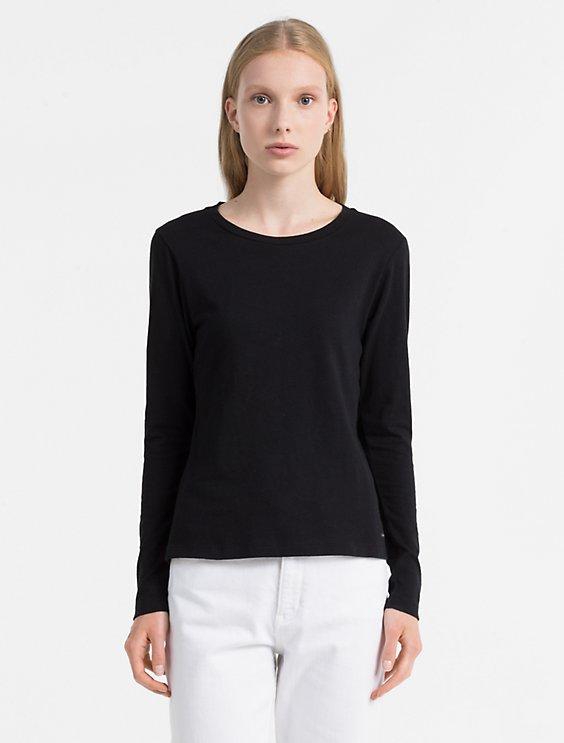 Buy Cheap Amazing Price Calvin Klein Basic Longsleeve Top Clearance Countdown Package XRulp