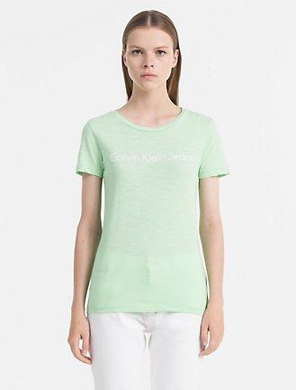 Calvin Klein Jeans (Ckj) Logo Crewneck T-Shirt