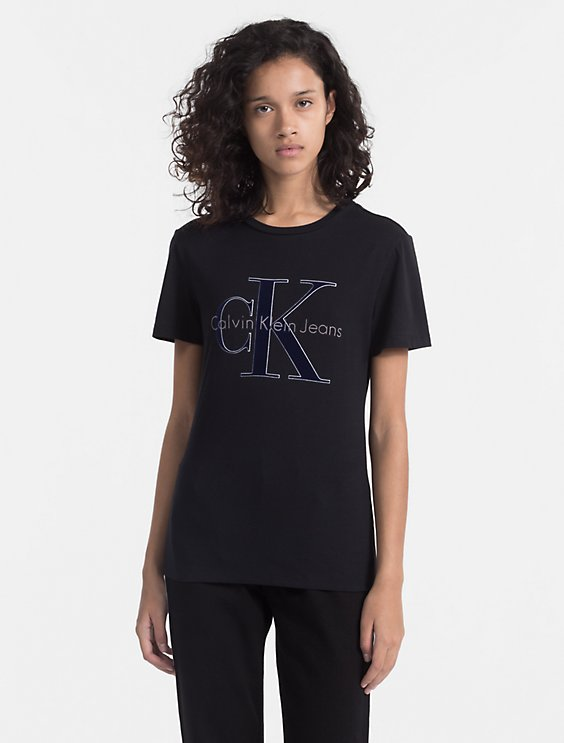 35a673cb8 Sale monogram logo t-shirt