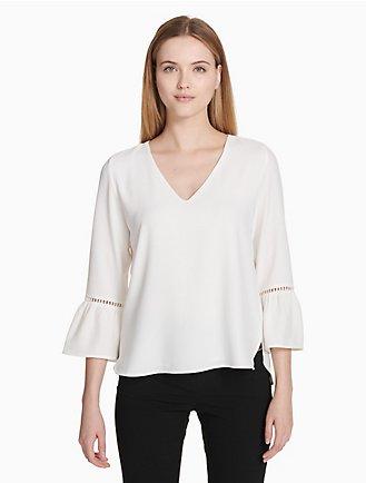 011e6a35dc5 Sale | Women's Sale | Shirts + Blouses | Calvin Klein