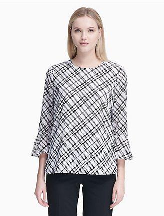 b8699645a04 Sale | Women's Sale | Shirts + Blouses | Calvin Klein
