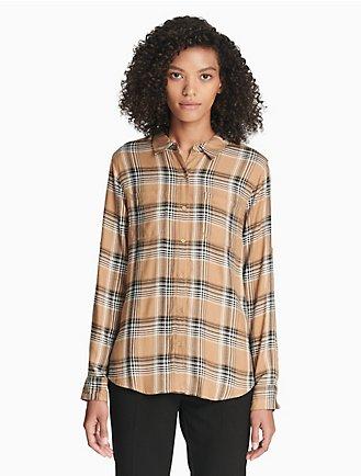 34fa9b284 Sale | Women's Sale | Shirts + Blouses | Calvin Klein