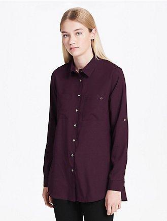 9743ae766d0b2f Sale | Women's Sale | Shirts + Blouses | Calvin Klein