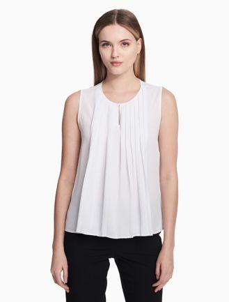 Shirt for Women On Sale, Rose, Cotton, 2017, 6 8 Calvin Klein