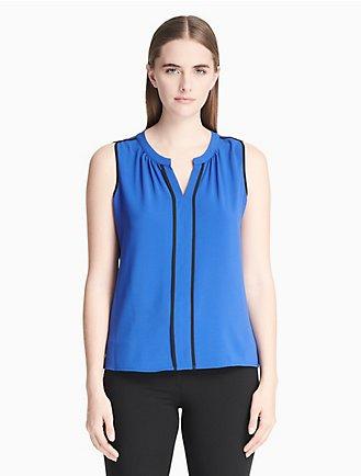 568f95d5c0421d Women's Tops & Blouses | Calvin Klein