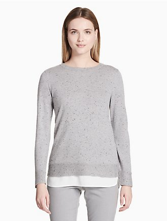 4bfc5182a70 Women's Sweatshirts & Sweaters | Calvin Klein