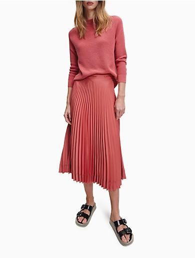 Image of Waffle Knit Wool Blend Sweater