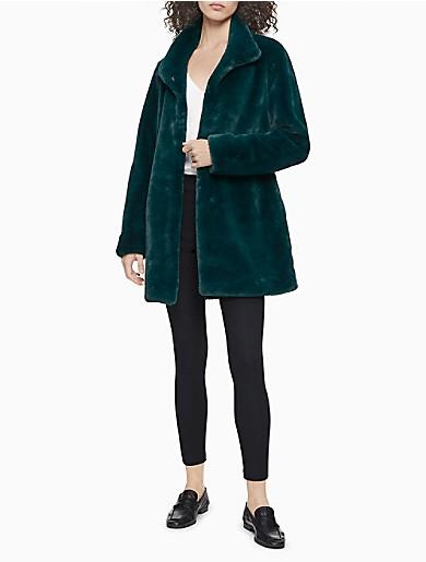 Image of Faux Fur Coat