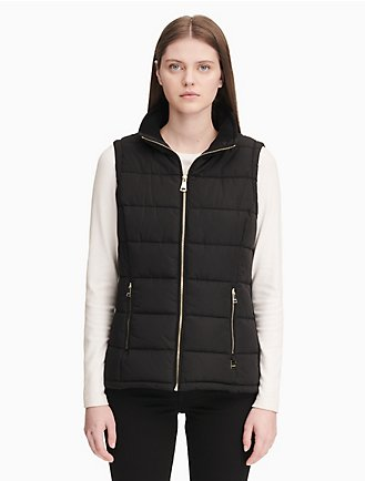 76b2568170 square quilted puffer vest