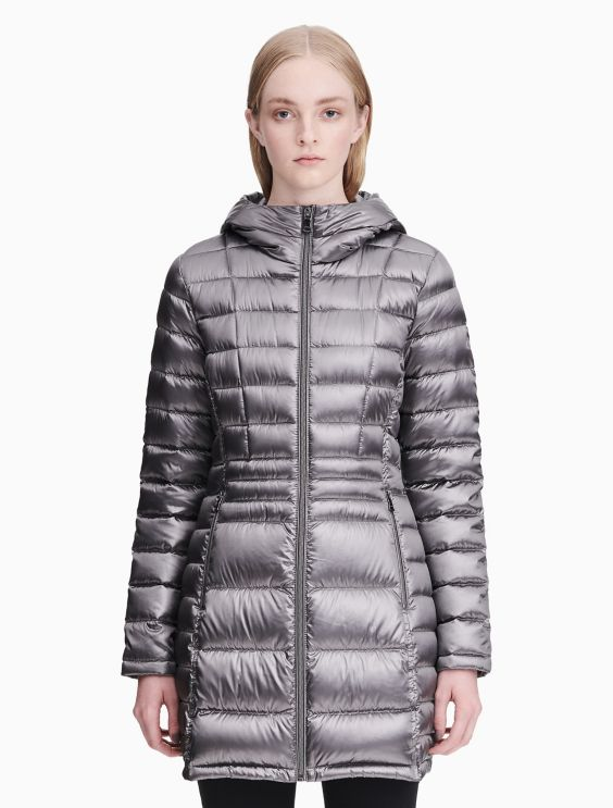 Down Packable Walker Jacket by Calvin Klein