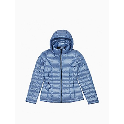 Packable Down Hooded Puffer Jacket