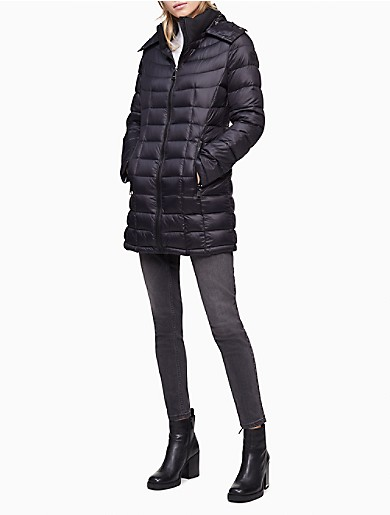 Image of Packable Down Puffer Coat