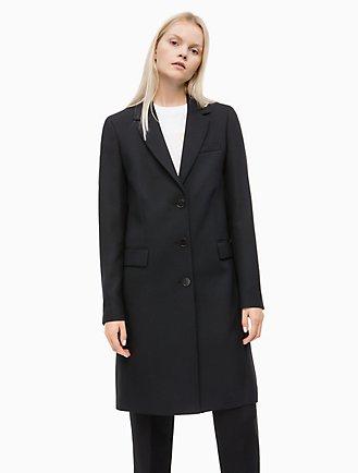 fa3ddd5f42e5 Twill Crombie Coat