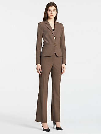 Heather Taupe Suit