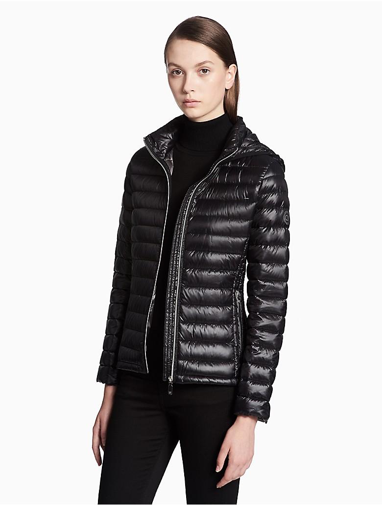 91a207e8119d calvin-klein-womens-packable-hooded-short-jacket thumbnail 9