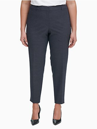 47b34bfe048 Final Sale.  50 OFF EVERY  125 SPENT. plus size slim fit ankle pants