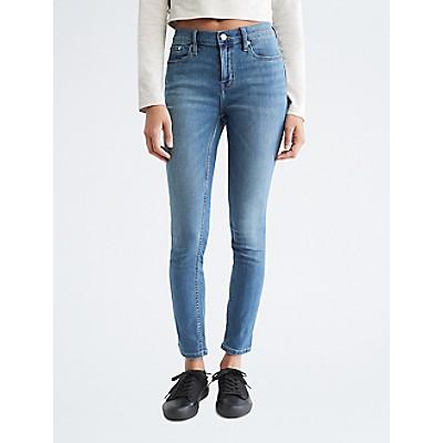 Skinny Mid Rise Del Mar Rinse Jeans