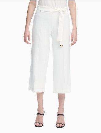a460466a4a1c07 Women's Pants: Joggers, Capris & Culottes   Calvin Klein