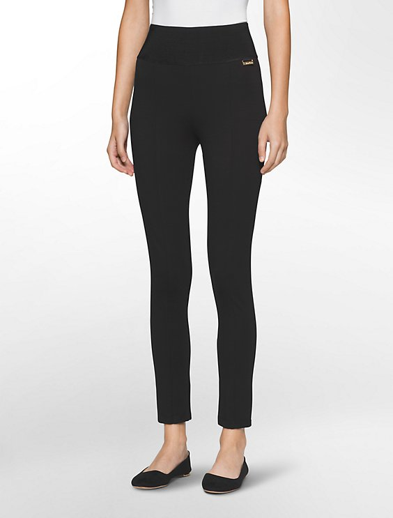 44c4264dd124d5 power stretch wide waistband leggings | Calvin Klein