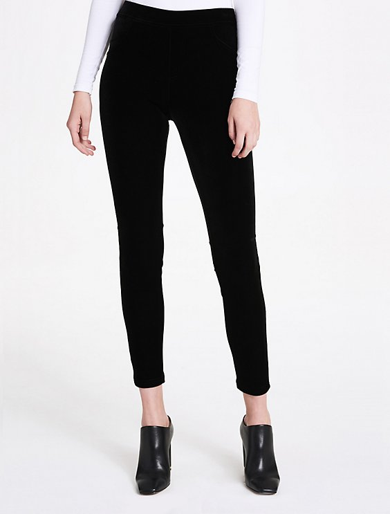 d7df9c49684af velvet stretch leggings | Calvin Klein