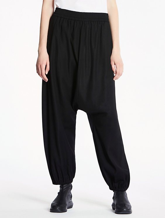 6a4fb888f1b48c extreme drop crotch pants | Calvin Klein