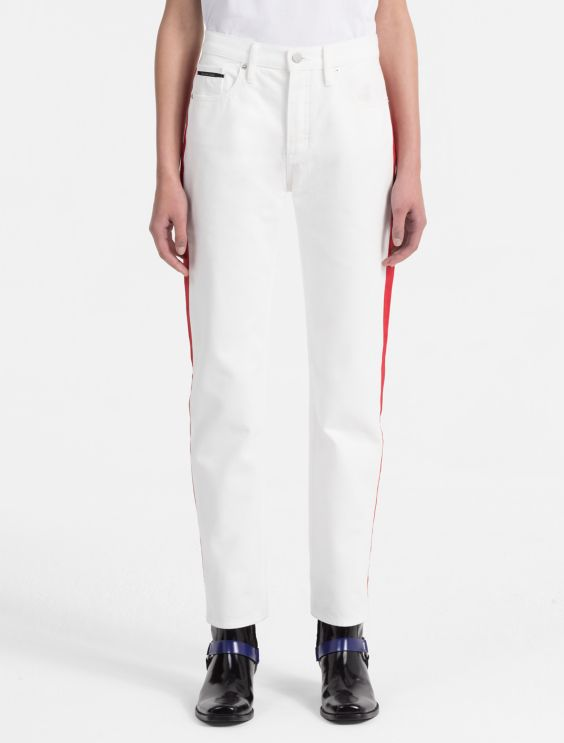 Calvin Klein Collection Wool High-Rise Pants