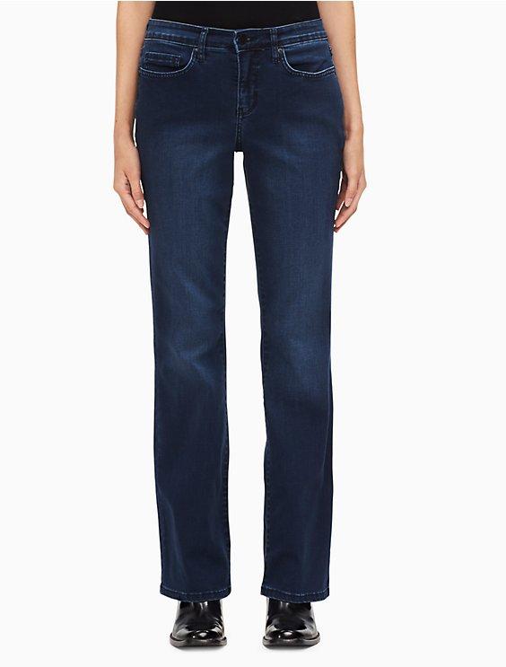 895496ae5da curvy bootcut mid-blue jeans | Calvin Klein