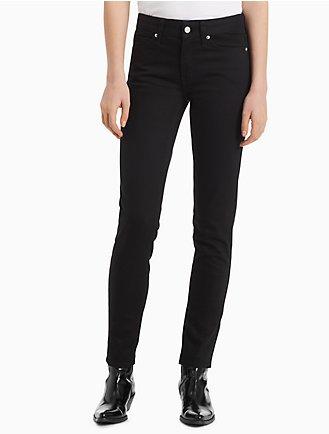 2b87af6753d skinny mid rise eternal black jeans