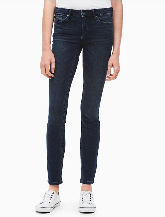 7f4b8492bc ultimate skinny dark wash jeans | Calvin Klein