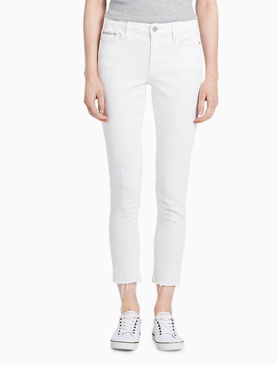 f69883fa789 Sale skinny white ankle jeans