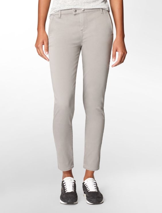 Pants With Sateen Details Jeans für Damen OGY4bhocH7