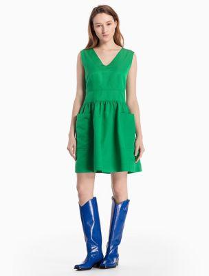 Green Blue Dresses